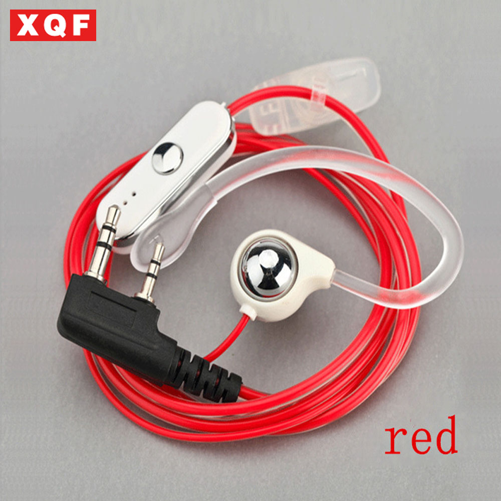 XQF NEW!Hot Selling Earpiece For BAOFENG UV-5R 888S B5 B6 Two Way Radio For KENWOOD Walkie Talkie
