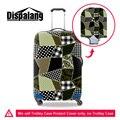 Dispalang recém projeto da manta de proteção à prova d' água poeira chuva mala de viagem cobertura de bagagem elástica grosso cobre para 18-30 polegada