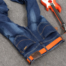 Winter 2016 new lgnace LEE stretch jeans male fashion factory direct one generation 8005 Large size