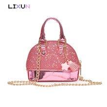 Ladies Mini kawaii Tassel Crossbody Bag Women Shell Bag For Cute Kids Little  Baby Girls Crossbody a740a3469d538