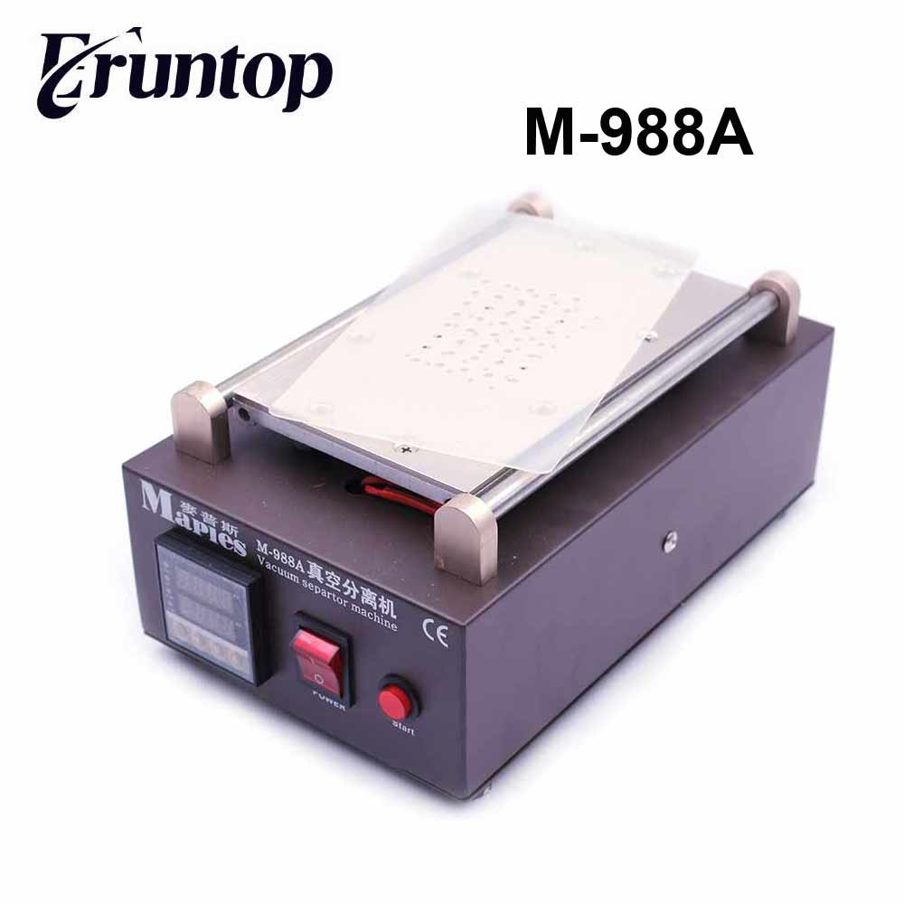 7 inch110/220V LCD Separator Machine Screen Repair Machine M-988A 110 220v 3pcs lot lcd separator machine lcd repair machine for all brand phones with free cutting wire