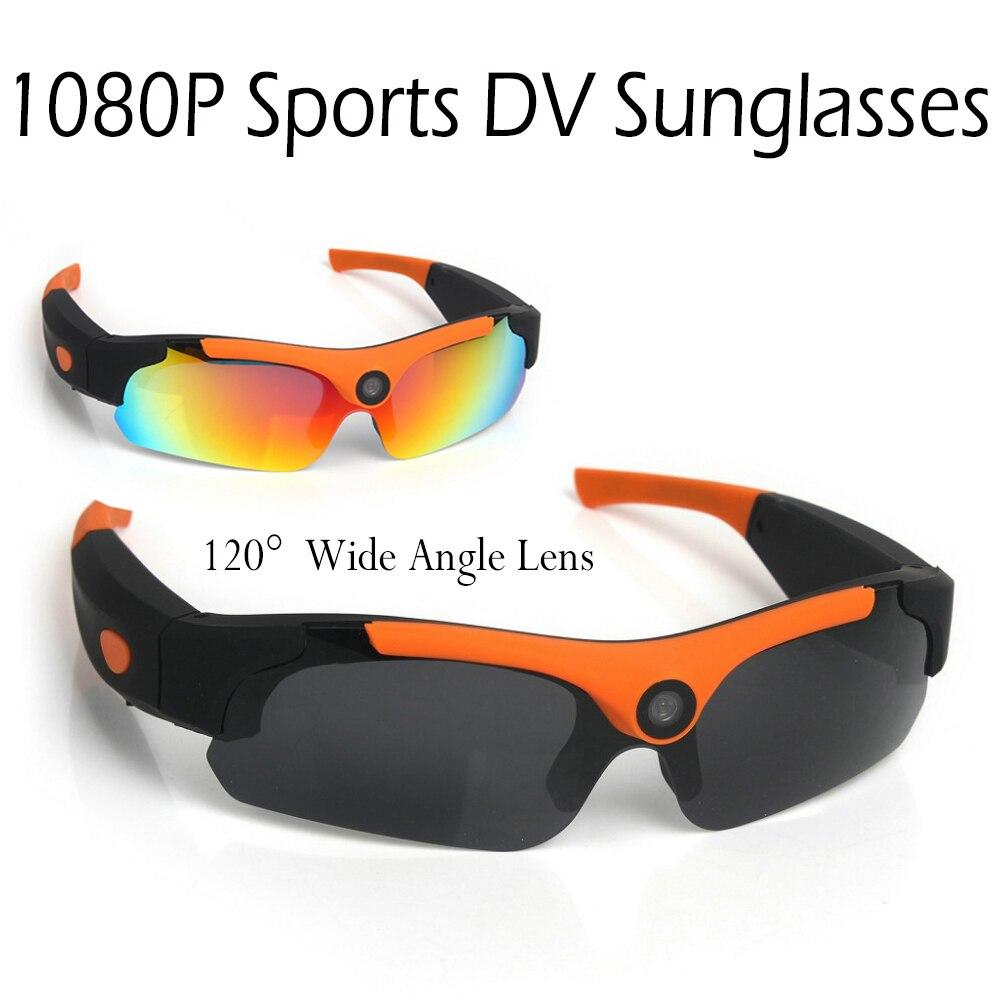 HD 1080P Digital Video Recorder Glasses mini Camera Sunglasses Polarized Mobile Eyewear Sport DV Camcorder DVR
