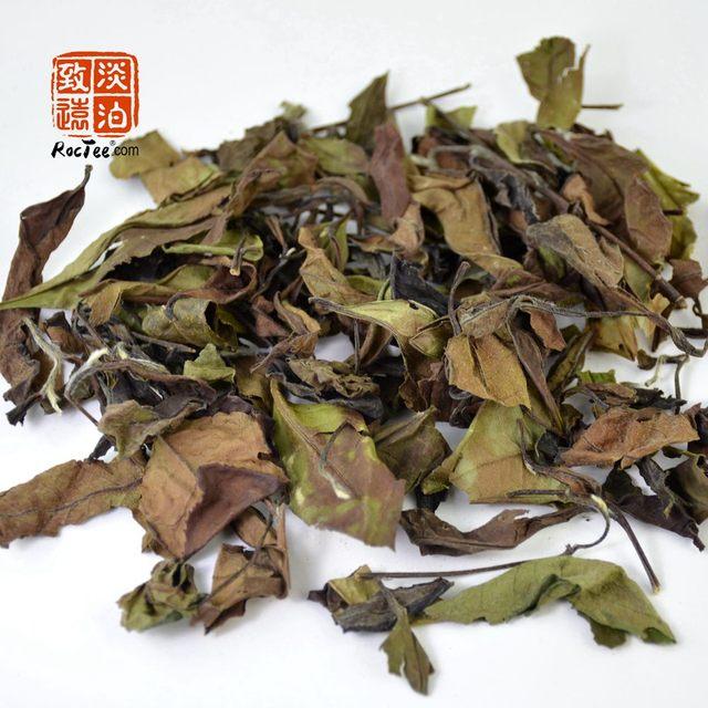 7cm Tea Strainers + 250g Organic Premium Wild Big Leaves Barren Mountain Shou Mei White Tea