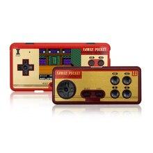 RS-20A Klasik Retro elde kullanılır oyun konsolu 8 Bit Taşınabilir video oyunu Player 3.0 inç Ekran Dahili 638 Oyun AV Çıkışı Ko...