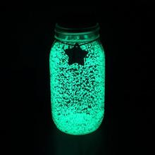 DIY Starry Wish Bottle 10g Luminous Glow Paint Pigment Party DIY Bright Paint Star Wishing Bottle Fluorescent Particles