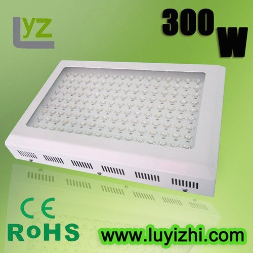 Free shipping+high quality 300w led plant lamps for plant grow+CE&RoHs approved with 2 years warranty