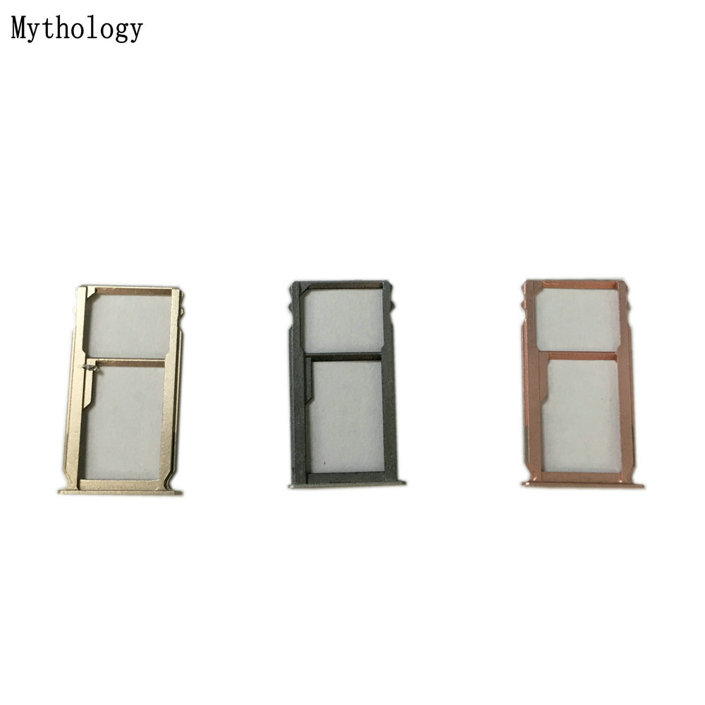 Mythology Sim Card Holder Tray Card Slot For HuaWei Mate S Kirin 935 Android 5.1 5.5 Mobile Phone SD Sim Card Adapters