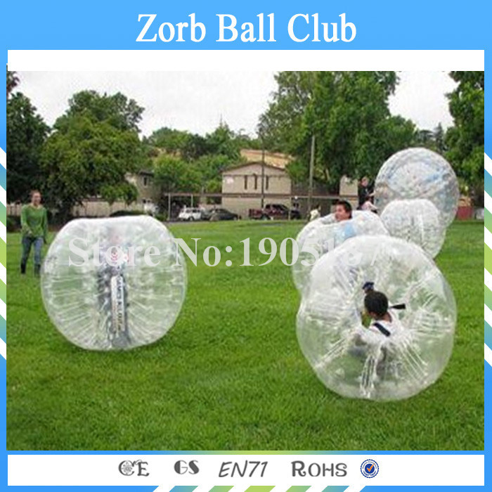 Free Shipping 1.2m TPU Bubble Soccer For Kid ,Bubble Football ,Zorb Ball For Sale, Bubble Ball Suit For Colombia
