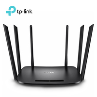 New 2015 Wifi Repeater Tp Link Wdr7400 Wireless Router 6 Antenna 2 4ghz 5ghz 802 11ac
