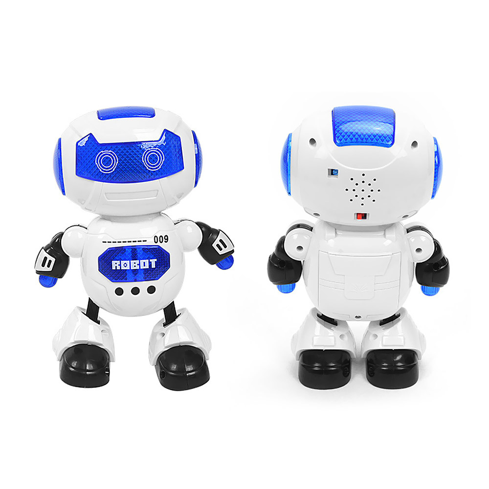 Hot DealsMusic-Lighting Gifts Electronic-Dance-Toy Walking-Robot Rotation Intelligent 3y 13--8--23cmß