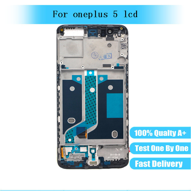 100% Tested LCD Display Screen Touch Panel Complete Assembly for Oneplus 5 Five A5000 LCD Digitizer Display with frame