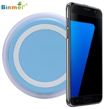 Binmer Горячие Продажи Беспроводное Зарядное Устройство Зарядки Pad для Samsung Galaxy S7/S7 Edge Plus Подарок Ноября 2