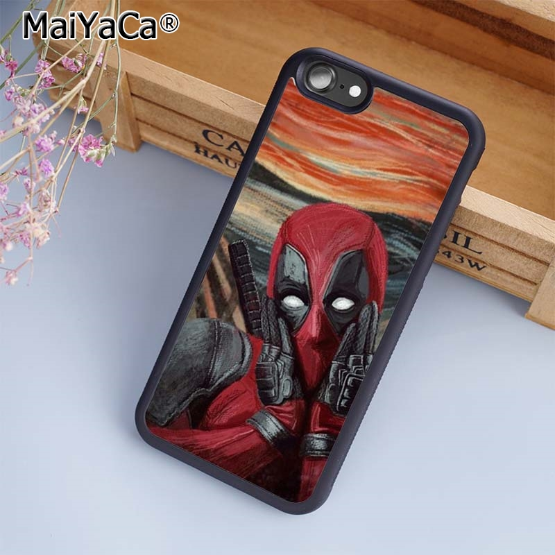 Aliexpress.com : Buy MaiYaCa Deadpool The Scream Edvard