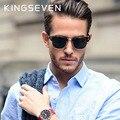 2016 Moda De Metal Semi-Aro dos óculos de Sol Óculos de Sol do Desenhador Dos Homens Marca Original Retro Unisex Coating Eyewear Oculos