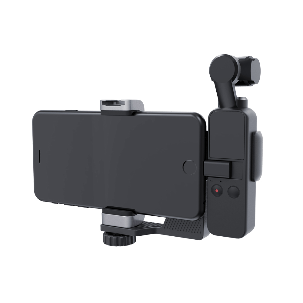 Image 3 - PGYTECH DJI OSMO Pocket Phone Holder Set for DJI OSMO Pocket Handheld Gimbal Holder Bracket Accessories-in Gimbal Accessories from Consumer Electronics