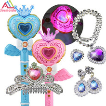 Light Up Toys Kids Elsa LED Magic Wand Music Singing Let It Go Ice Snow Queen Glow Led Toys Juguetes Con Luces Led Light Sticks