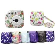 SIV PU Leather Camera Shoulder Bag Cover Case Pouch for Fujifilm Instax Mini 9/8/8+ парик siv bobo sm058