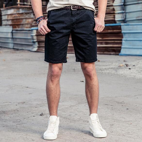 RICHARDROGER Casual Shorts Men Cargo Short Mens Cotton Summer Cool Brand Shorts Knee Length Plus Size 2018 Men Style P-D1602