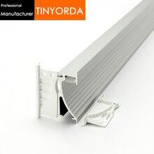 цена на Tinyorda 100Pcs(2M Length)Alu Led Strip Profile Led Step Light Profil for 14mm Strip Light [Professional Manufacturer]TAP7026