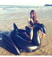 Sommer Riesigen Schwan Für Erwachsene Einhorn Aufblasbare Fahrt Auf Flamingo Pool Float schwarz Schwan Aufblasbare Schwimmen Ring Wasser Spielzeug Float