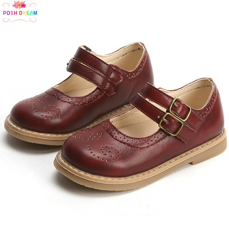 Shoes Glitter Girls Vintage Spring Kids Children POSH DREAM Soft-Sole Single