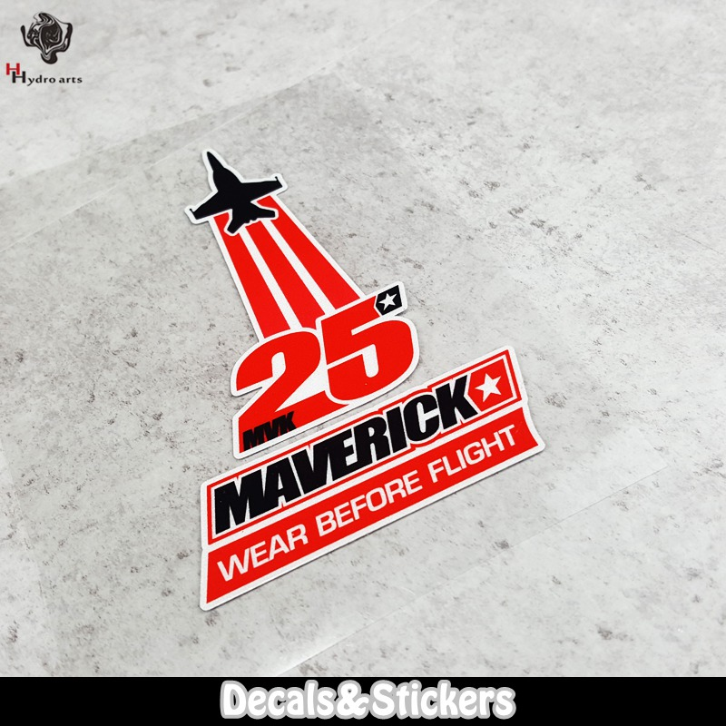 NO.LN097 Wear before flight MAERICK VINALES NO.25 3M Material Reflective Stickers MOTO GP Car Decals Racing Stickers Motorcycle