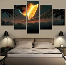 Meteorite Landscape Canvas Wall Art Home Decor For Living Room Paintings on for Artwork