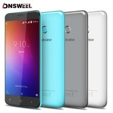 Blackview E7 D'empreintes Digitales ID smartphone MT6737 Quad Core Android 6.0 Mobile Téléphone 5.5 pouce 1 GB + 16 GB 8MP 4G cellulaire téléphone Livraison cas