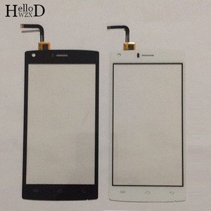 Image 2 - Mobie Touch Screen For Doogee X5 Max \ X5 Max Pro Touch Screen Glass Digitizer Glass Panel Touch Screen 5.0 inch Protector Film