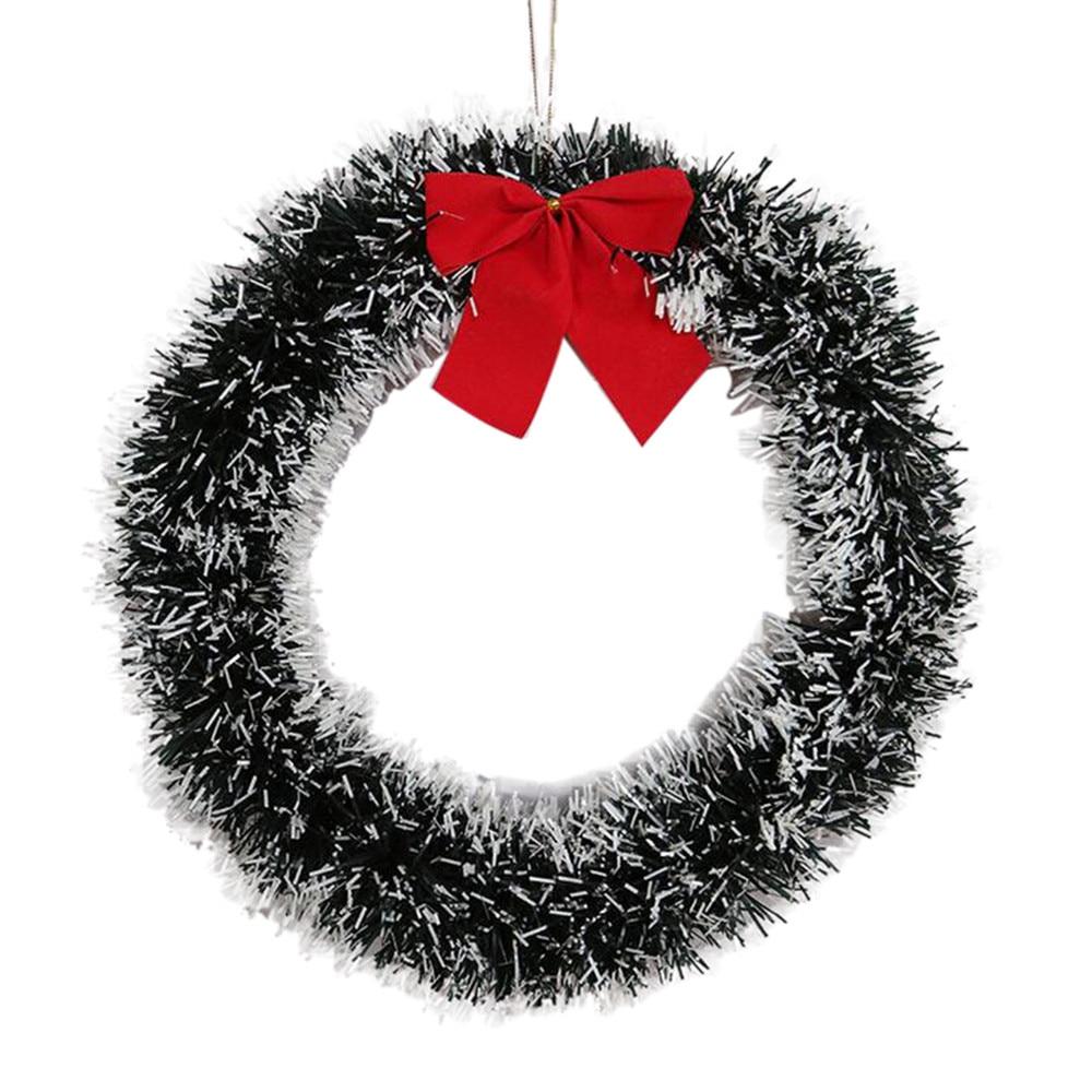 Christmas Wreath Artificial Dried Flowers Door Hotel Mall Window Hanging Decor