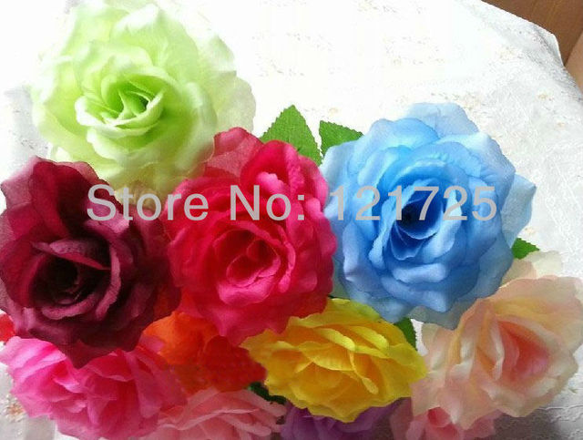 free shipping,artificial silk single rose flowers,12 colors for selection