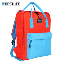 BESTLIFE School Bags for Teenage Girls Junior Student Satchel 14.1 Laptop Handbag Daypack Backpack