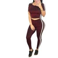 Zmvkgsoa 2 Stuk Set Vrouwen Bodycon Sweatshirt Sportkleding Vrouwelijke Pak Zomer Casual Bodysuit Playsuit Outfit Trainingspakken Y3012