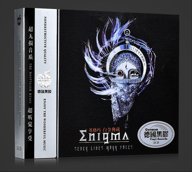 Cd Box Set Top Fashion Free Shipping; Enigma / Ingram Cd Light Music Fans Song T Station Background Selection Car Disc Seal