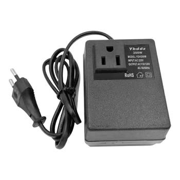 50/60Hz YDH200W  220V To 110V Intelligent Efficient Household  AC  Step Down Transformer Voltage Converter Travel Power Adapter 1