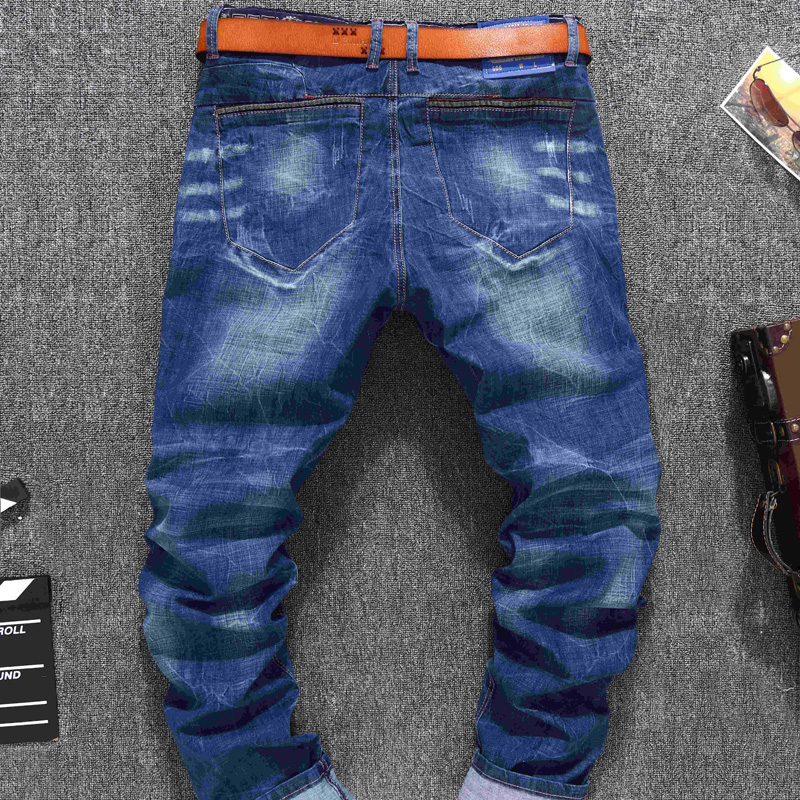 Slim 48 Men Vaqueros 36 Jeans Hombre Pantalones wYnOZ