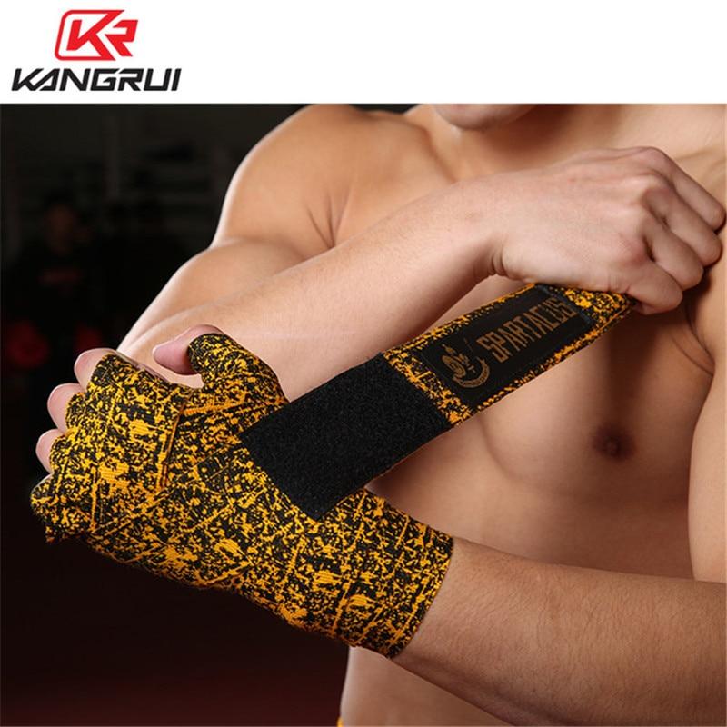 Muay Thai Kickboxing Kwon Interior Hand Bandage with padding Boxing boxbandagen