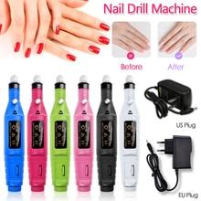 Professionele Elektrische Nail Boor Manicure Machine Kit Nail Art Pen Pedicure Nail Art Schuren File Gel Polish Remover Gereedschap Kit