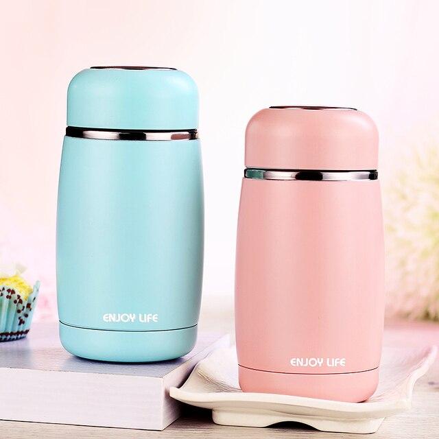de67686f77b 304 Edelstahl Thermos Tasse Thermoes Flasche Becher Wasser Flasche  Isolierte Vakuum Glaskolben Kaffee Becher Für kinder
