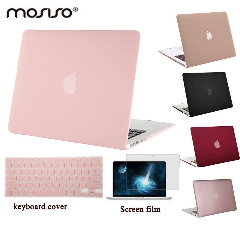 MOSISO für Macbook Air 13 A1466/A1369 Kunststoff Hard Case für Mac book Pro 13 Retina A1425/A1502 Klar Matte Laptop Shell