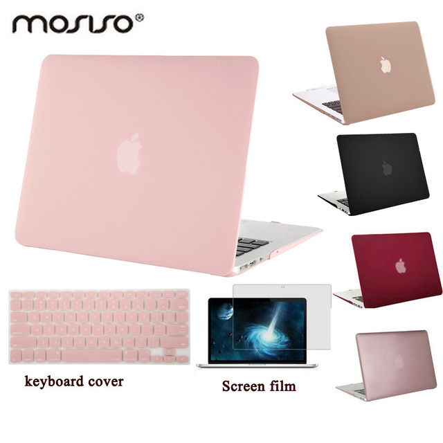 size 40 bab86 9aeb2 MOSISO for Macbook Air 13 A1466/A1369 Plastic Hard Case Cover for Mac book  Pro 13 Retina A1425/A1502 Clear Matte Laptop Shell-in Laptop Bags & Cases  ...