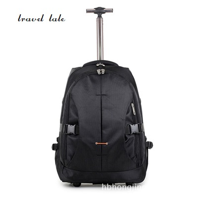 travel tale Different sizes Five kinds of color fashion men/woman Casual Nylon Rolling Luggage Travel Duffle travel tale color stitching