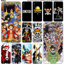 One piece anime Silicone Case For Xiaomi Pocophone