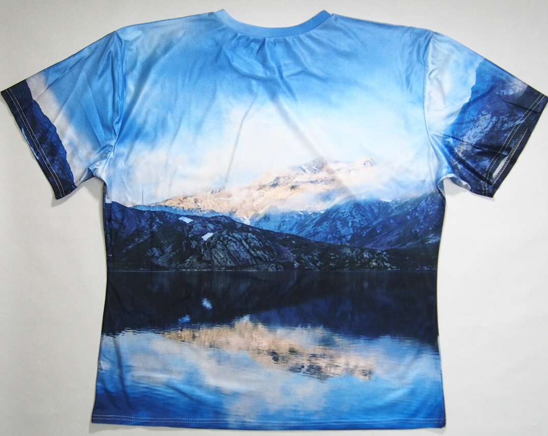 RageOn Hot Shots Epic Mountains Scenery T-Shirt Women/Men Summer Short Sleeve 3D T Shirt Crewneck Tees Harajuku Hip Hop Tops