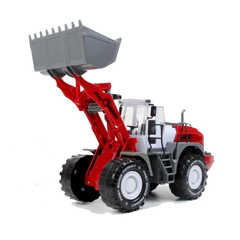 Boy Love Big Bulldozer Inertial Engineering Car Model Vehicles Building Shovelcar Kids Toys Beach Toys Truck Excavator Toys