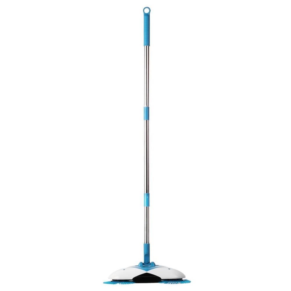 Portable Sweeping Machine Push Type Magic Spin Broom Dustpan Hand Push Floor Sweeper Household Vacuum Cleaner Cleaning Machine new stainless steel sweeping machine push type hand push magic broom dustpan handle household cleaning package hand sweeper
