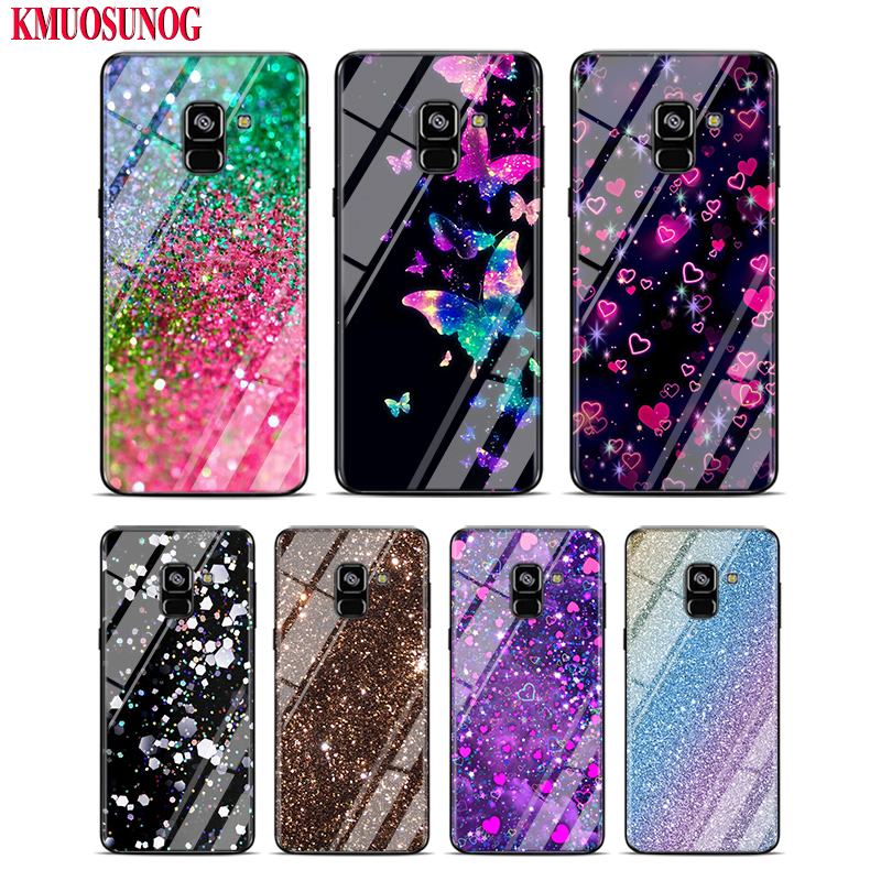 Black Silicone <font><b>Case</b></font> for <font><b>Samsung</b></font> A9 A7 2018 Cover for <font><b>Samsung</b></font> Galaxy A8 <font><b>A6</b></font> Plus A5 A3 Star <font><b>2017</b></font> 2016 Not Glass Cover Style 154KK image