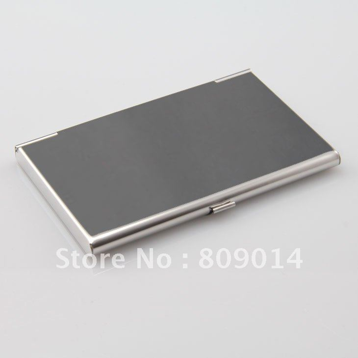 Free shipping engraved stainless steel business card holder ...