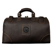 Vintage Luggage Travel Duffle Bags Man Genuine Leather Traveling Bag High Quality 18 Large Capacity Men's Luggage Bags Handbags