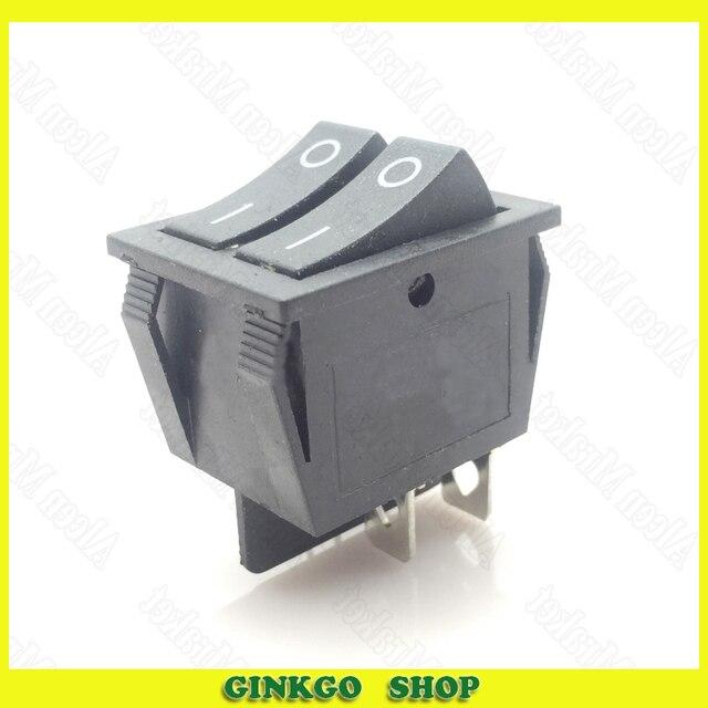 30pcs/lot Rocker Power Switch Two Wire Switch KCD3 Electric Heater ...
